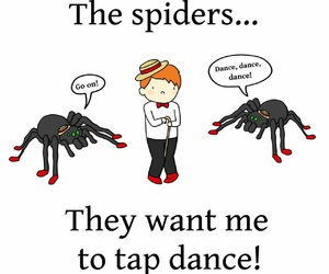 harry potter, ron weasley, and spiders image