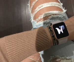 fashion, pink, and iwatch image