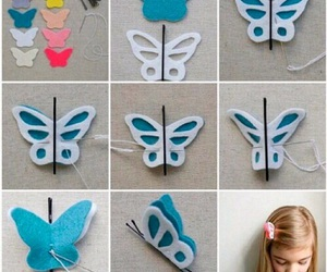 diy, tutorial, and butterfly image