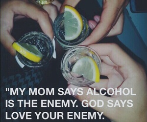 alcohol, enemy, and grunge image