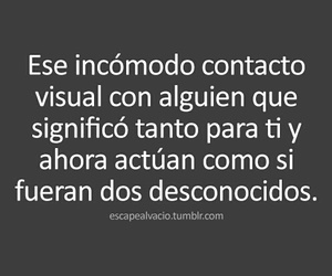 love, frases, and desconocidos image