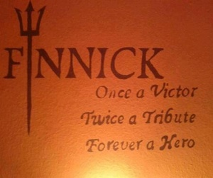 finnick, hero, and tribute image