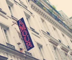 amour, love, and paris image