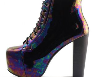 acid, fashion, and heels image