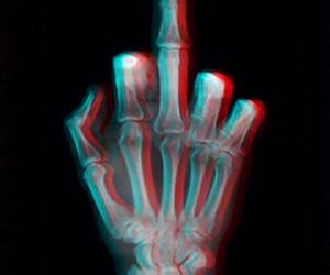 3d, black, and bones image