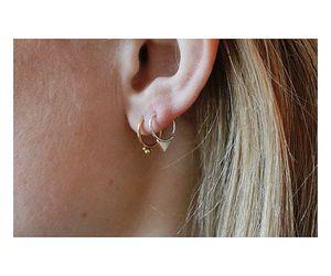 creative, earrings, and fun image