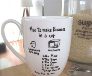 diy, cup, and brownies image