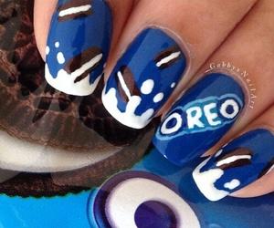 nail art and oreo image