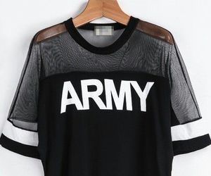 army, shirt, and bts image