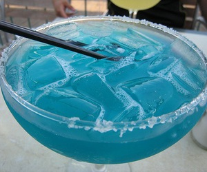 blue, coctail, and longdrink image
