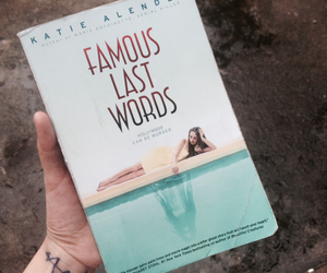 book, last words, and story image