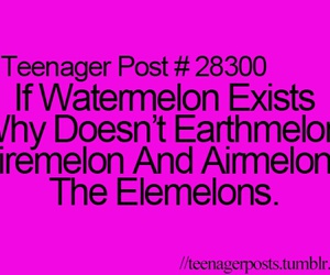 teenager post and watermelon image