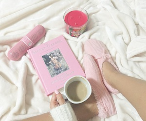 candle, coffee, and fashion image