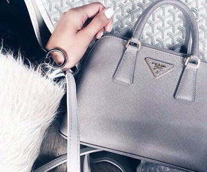 bag, Prada, and fashion image