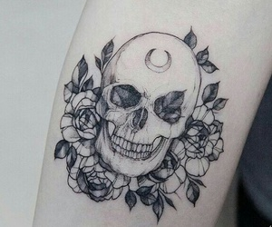 skull and tatoo image