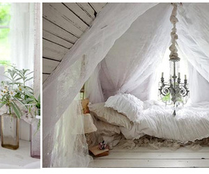 bed, Dream, and fairytale image