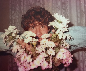 1984, flowers, and hair image