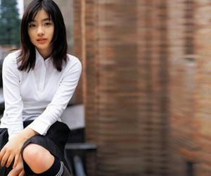 girl, pretty, and satomi ishihara image