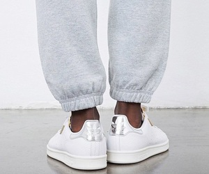 white, adidas, and fashion image