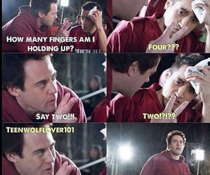teen wolf, coach, and danny image