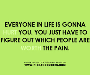 quote, hurt, and pain image