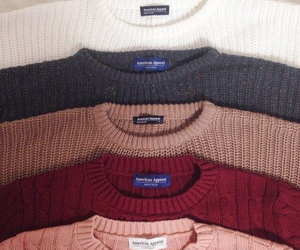 sweater, fashion, and american apparel image
