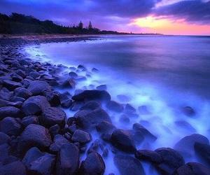 landscape, beautiful, and beach image