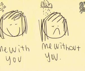 without you, me, and with you image