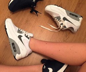 90's, shoes, and nike air max image