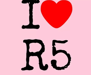 i, r5, and love this band image