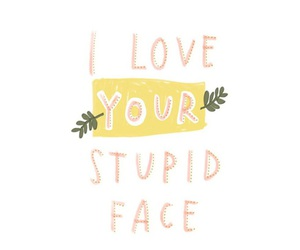 face, love, and i love image