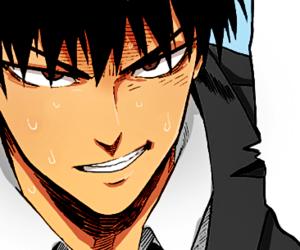 saitama, one punch man, and haïr image