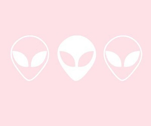 alien, pink, and brandy melville image