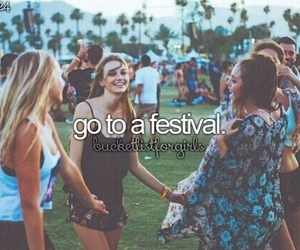 festival, bucket list, and bucketlist image
