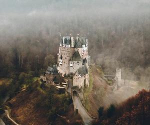 castle, autumn, and landscape image
