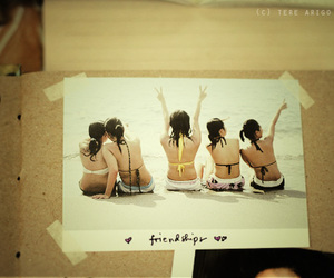 friendships, girls, and scrapbook image