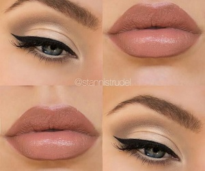 makeup, lips, and make up image