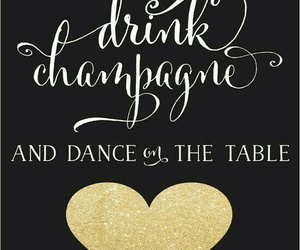 champagne, dance, and happy image