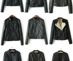 casual, jackets, and leather image