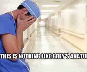 doctor, funny, and grey image
