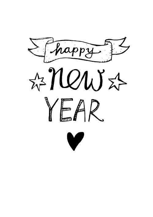 happy new year, new year, and 2016 image