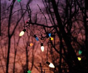 light, christmas, and sky image