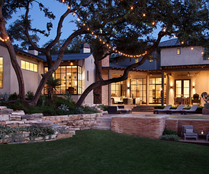 house, lights, and beautiful image