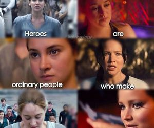 divergent, hunger games, and the hunger games image