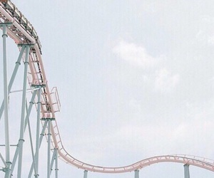 blue and Roller Coaster image