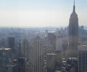 empire state building, new york, and nyc image