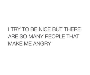 angry, nice, and people image