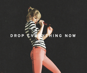 Taylor Swift, red, and sparks fly image
