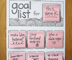 diy, new year, and goals image