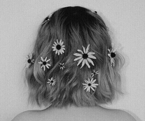 and, curly, and daisies image